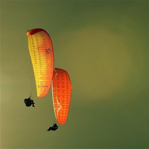 photo boillon christophe / photo au carré sport & parapente / un autre regard sur le parapente à chamonix n°3