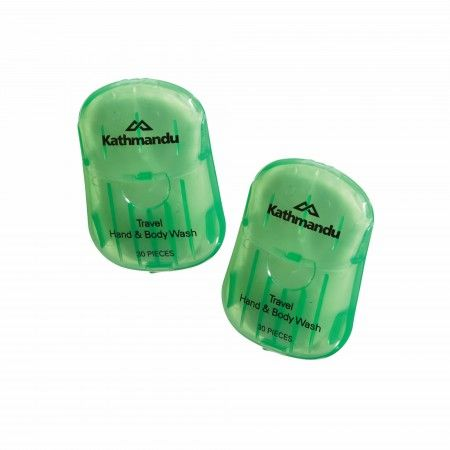 Buy Hand & Body Wash Paper 2pk Uncoloured Online at Kathmandu