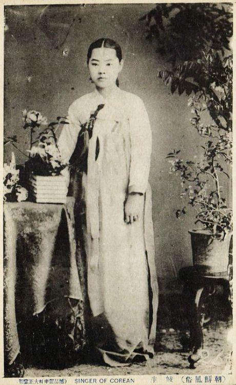 1910s Korea Girl Singer