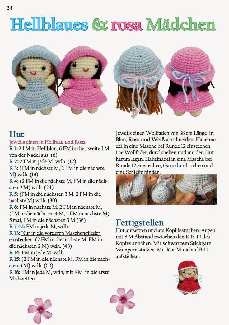 548 best Häkel Ideen images on Pinterest | Amigurumi patterns ...