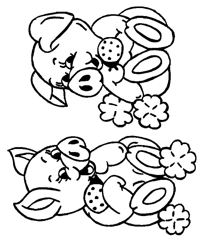 pig colouring pages google search