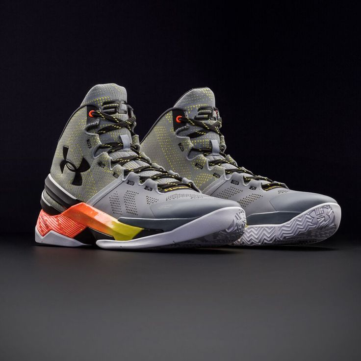 Men's UA Curry Two Basketball Shoes. Iron Sharpens Iron.
