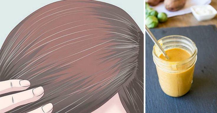 Como eliminar os cabelos brancos naturalmente sem usar tintura...
