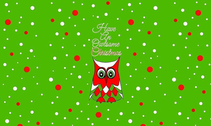 HAVE AN OWLSOME CHRISTMAS