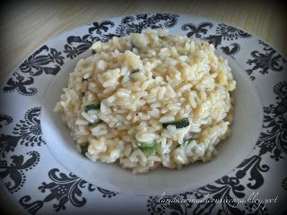 Risotto alle zucchine - Rice with squash