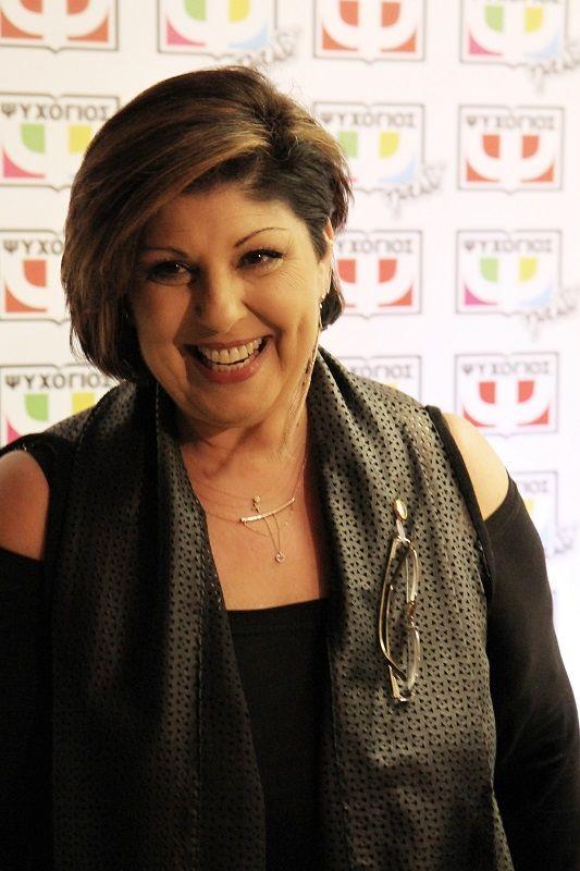 Η συγγραφέας Λένα Μαντά.