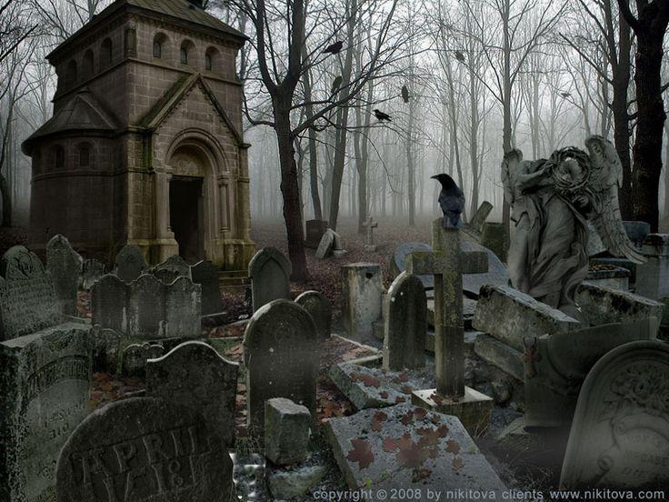 Sleepy Hollow. Graveyard by kidy-kat on deviantART