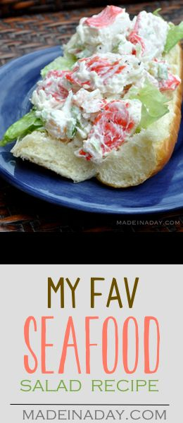 My Favorite Seafood Salad Recipe,Publix- Which Wich hack, crab, surimi, shrimp, mayo.. make this deli favorite at home with this recipe.