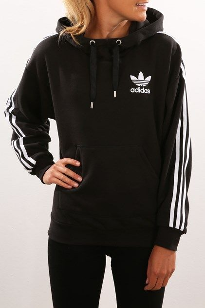 3Stripes Hoody Black
