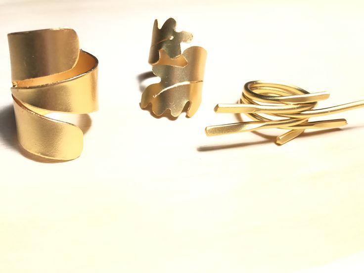 anillos grandes, joyería artesanal