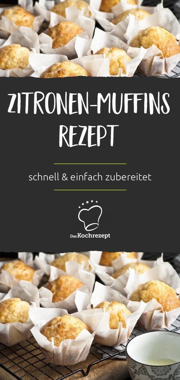 Zitronen-Muffins Rezept