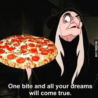 Because pizza: | 22 Disney Memes That Will Make You Laugh Every Time
