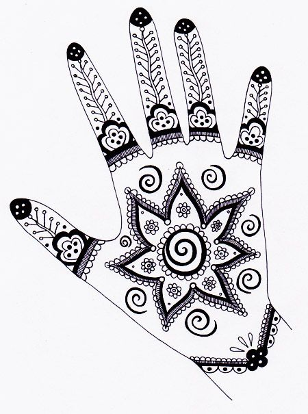 wish i found this site before I made did the Henna hand