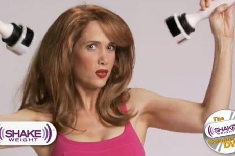 Shake Weight | Kristen Wiig | Saturday Night Live | #SNL Commercial Parodies