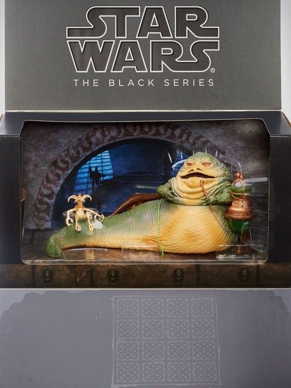 Jabba The Hutt's Throne Room - Actionfigur 2014 Exclusive - Star Wars Black Series 15 cm