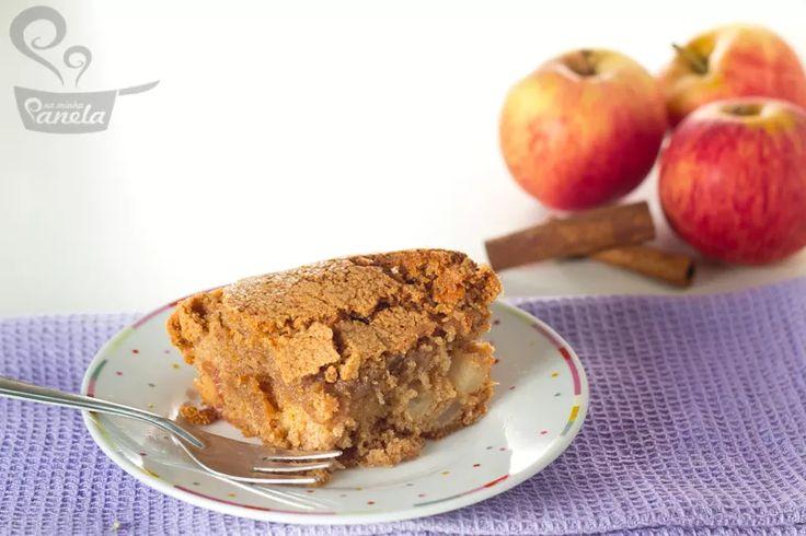 torta de maçã com casquinha crocante - Naminhapanela Receitas