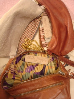 """""""The quality of leather and the array of colours the bags are produced in is beautiful. And whilst this is very important, one of the things that makes his bags so delectable, is the fabulous fabrics Ben uses to line them. It's the small details that count!"""" - Mimmy."""