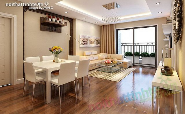 Bạn hãy bước đến không gian mà bạn muốn tới nhất, phòng khách được ưu tiên với diện sáng lớn thông thoáng, kệ tivi gắn tường với đường nét thiết kế đơn giản với những đợt ngang nhẹ nhàng .