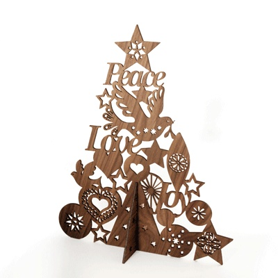Lovely Lasercut Tree Holiday Inspiration Love Laser