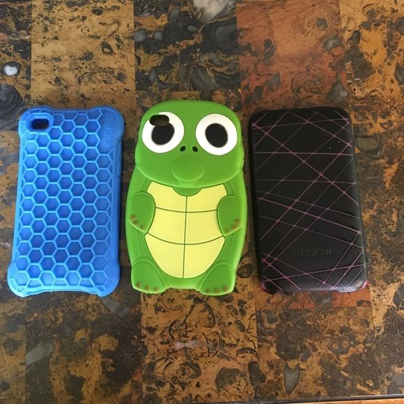 iPod covers! Sold together or separately! $40 for all or $15 each! Accessories Phone Cases