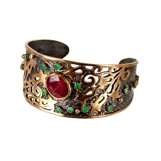 sterling silver open work cuff bracelets bangles