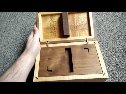 Woodworking: Centrifugal Force Puzzle Box - YouTube
