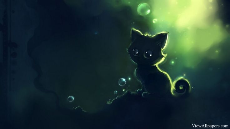 Anime Cat Wallpaper