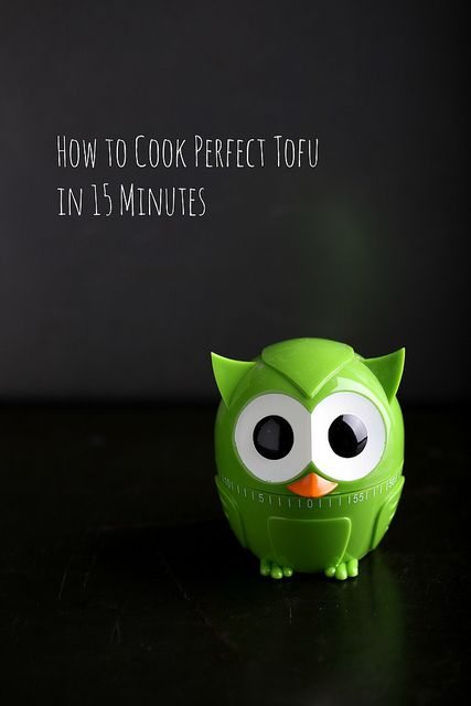 Olives for Dinner | How to cook perfect tofu in 15 minutes by Jeff and Erin's pics, via Flickr