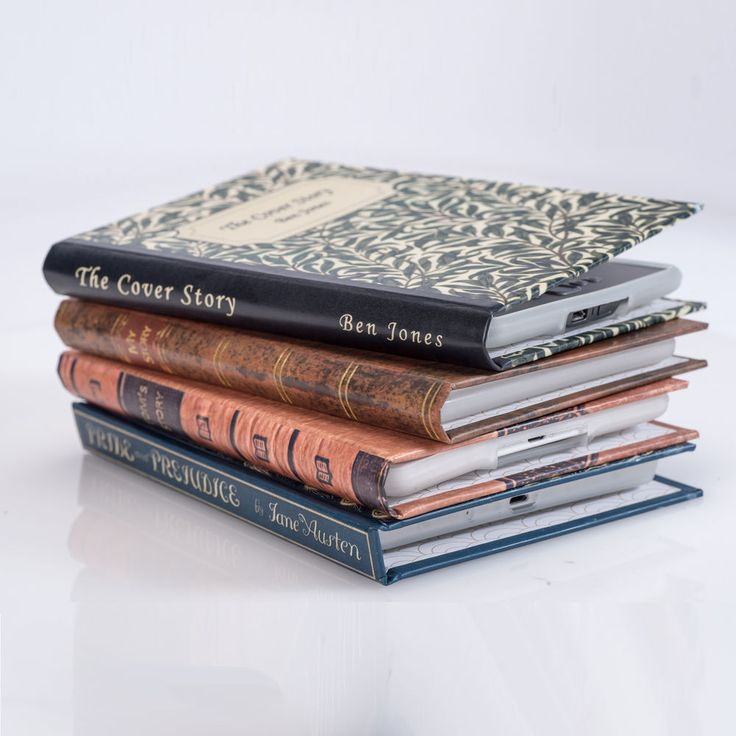 Kindle and Kobo eReader Cases that look like Beautiful Classical Book Covers #MarstonBindery