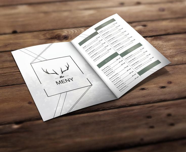 CASE: Menu for a Nordic restaurant (school assignment)