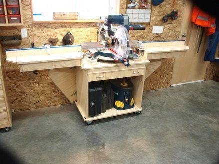 Folding Mitre Saw Station - by KMT @ LumberJocks.com ~ woodworking ...