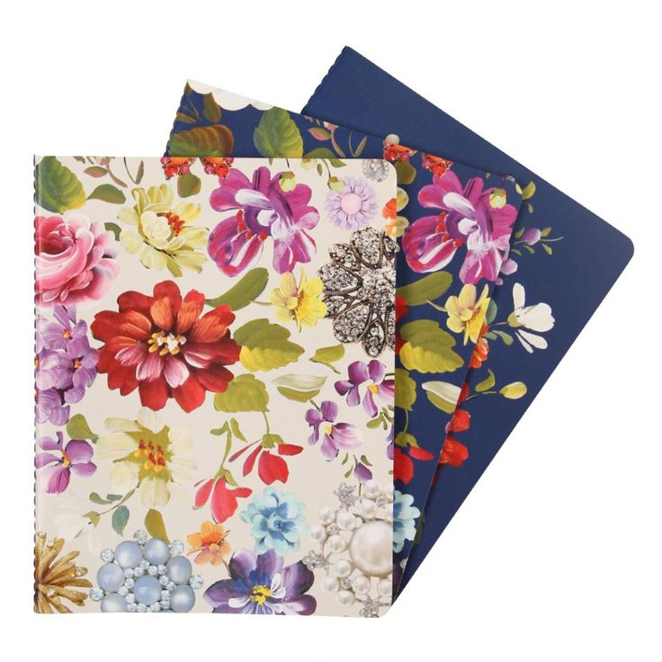 Madame Romantica exercise books - set of 3 - NEW - Stationery - New for Spring