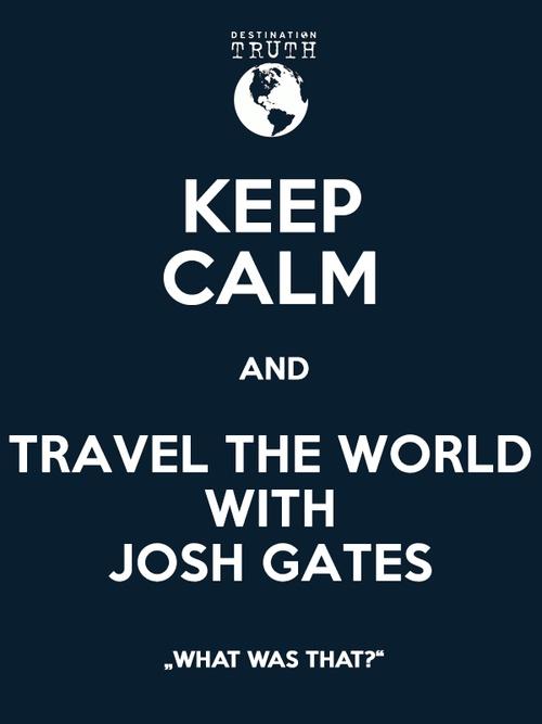 I MUST DO THIS!!! (2) josh gates   Tumblr