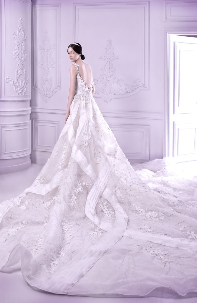 131 best Wedding Dresses images on Pinterest | Michael cinco ...