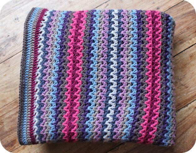 Crochet Pattern V Stitch Baby Blanket : 17 Best images about CROCHET - V-STITCH on Pinterest ...