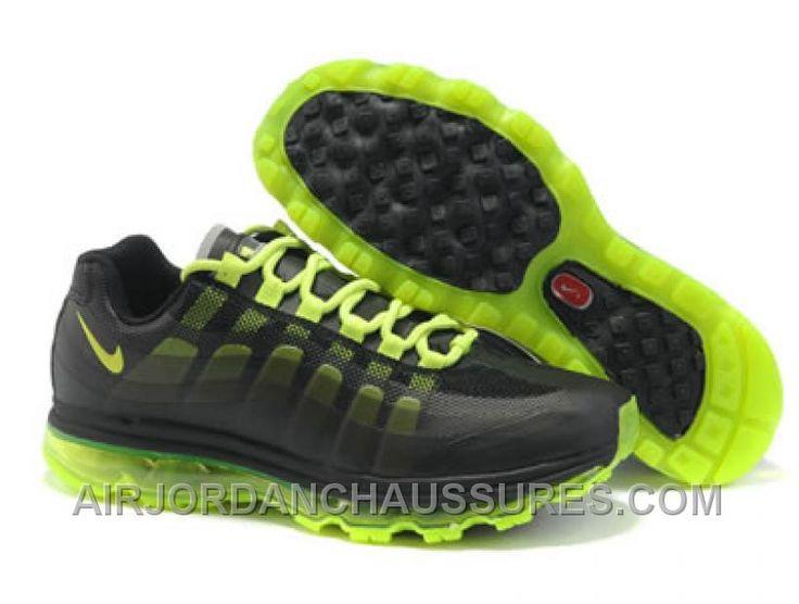 womens nike air max 95 green yellow