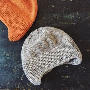 Free knitting pattern for 1898 Earflap Hat