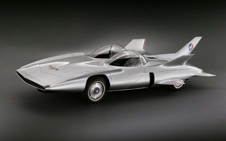 The GM Firebird III was the third in a line of concept vehicles from General Motors with a design inspired by fighter aircraft of the time. Firebird III made its debut at the Motorama car show in 1959 and stunned the world with its extravagant design that included a fibreglass body, wings, tail fins and a joystick where a steering wheel would normally be.