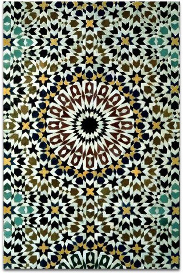 A arte dos mosaicos Islâmicos (Marrocos)                                                                                                                                                      Mais