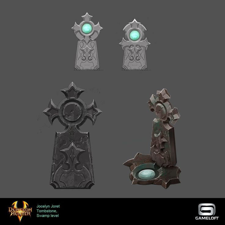 ArtStation - Misc props - Dungeon Hunter 5, Jocelyn Joret