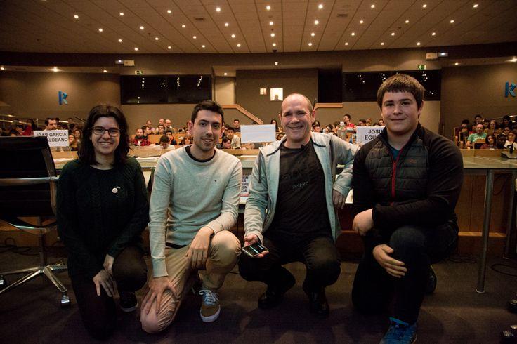 El jueves 9 de marzo de 2017 Ikaslan Bizkaia, Hetel y el Parque Científico y Tecnológico de Bizkaia acercaron las oportunidades y singularidades que ofrece el mundo de la tecnología a más de 200 estudiantes de cuarto de ESO.