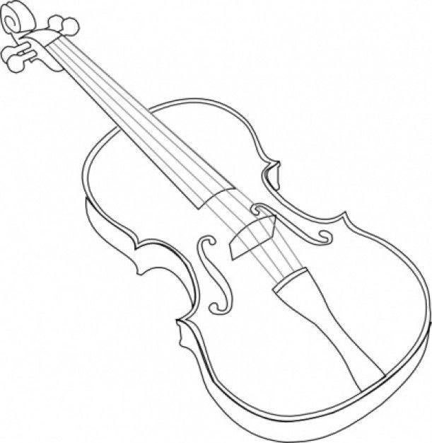 Menta Mas Chocolate Recursos Y Actividades Para Educacion Infantil Dibujos De Instrume Violin Dibujos Dibujos De Instrumentos Musicales Tatuajes De Violines