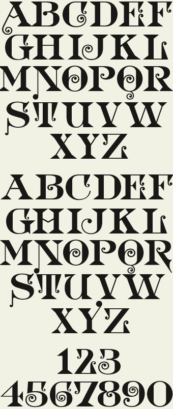Letterhead Fonts / LHF Doc Terwilligers / Victorian Typeface