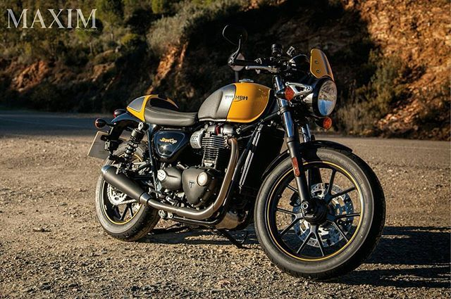 The stunning new stripped back 'street racer' with attitude and style.   @officialtriumph   . . #maximindonesia #triumph #streetcup #motorcycle #vintage  via MAXIM INDONESIA MAGAZINE OFFICIAL INSTAGRAM - Luxury Lifestyle  Entertainment  Girls  Gaming  Tech  Fitness  Cars  Sports  Fashion