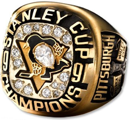 Total Pro Sports ranked Pittsburgh's 1991 Stanley Cup Championship ring design 7th out of 15. Where would you rank it?