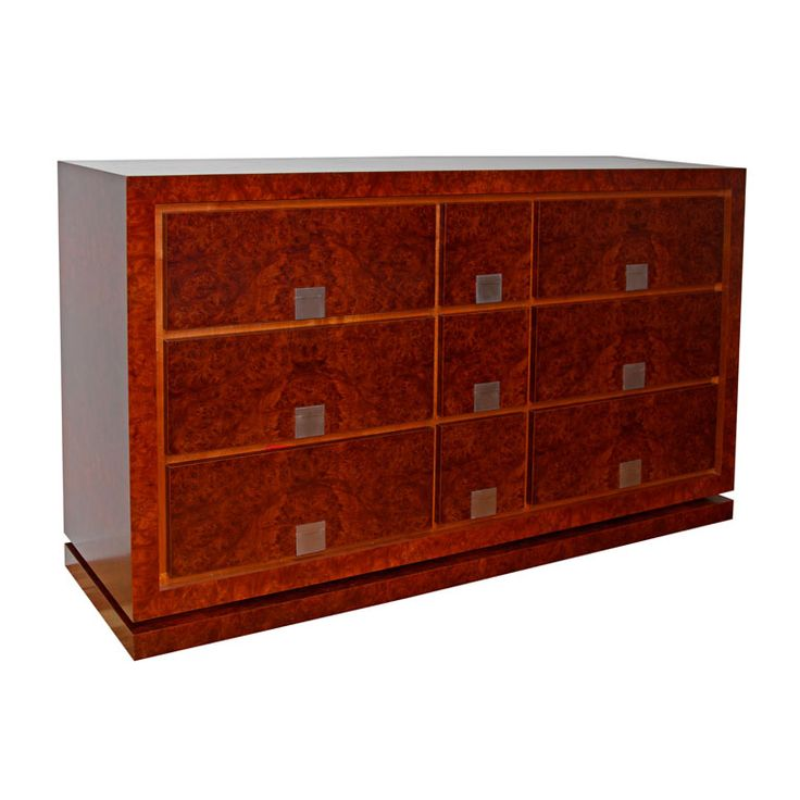 Burl Myrtle Chest of Drawers by Anton Gerner - bespoke contemporary furniture melbourne