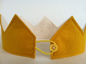 Mustard Felt Crown, don't know why I would ever need one, but like the idea.