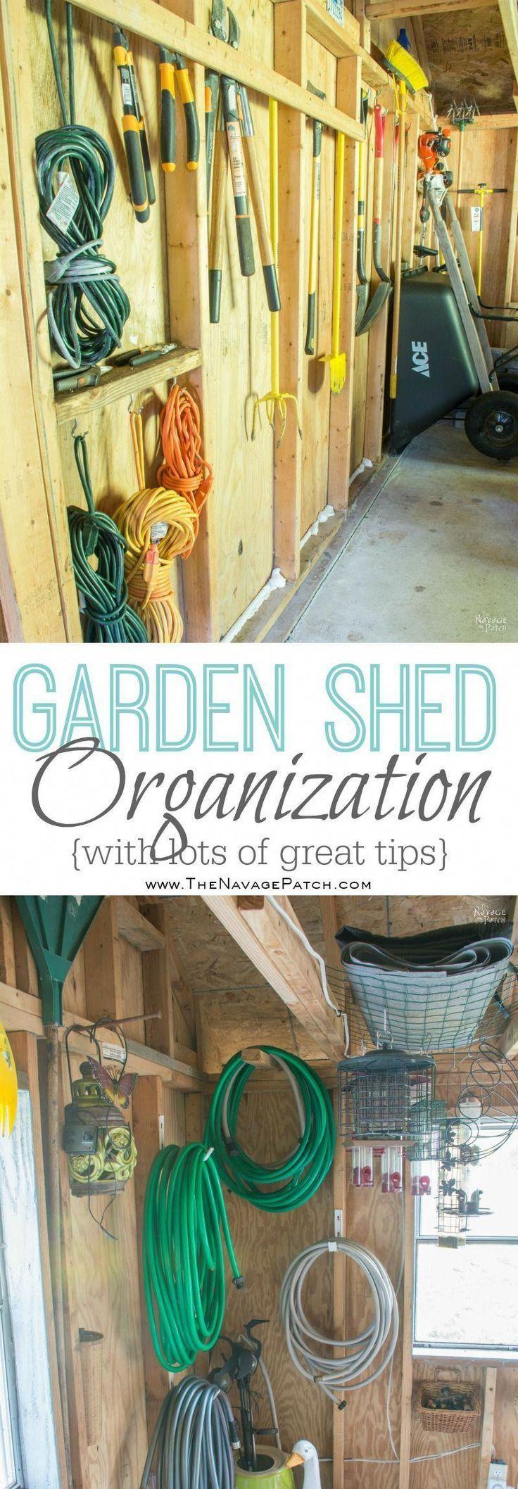 Garden Shed Organization | Creating a Rodent Proof Shed | Simpe and Easy