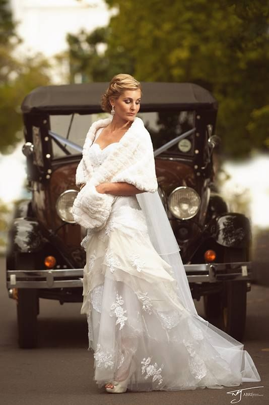 A classic vintage wedding held at Rozendal