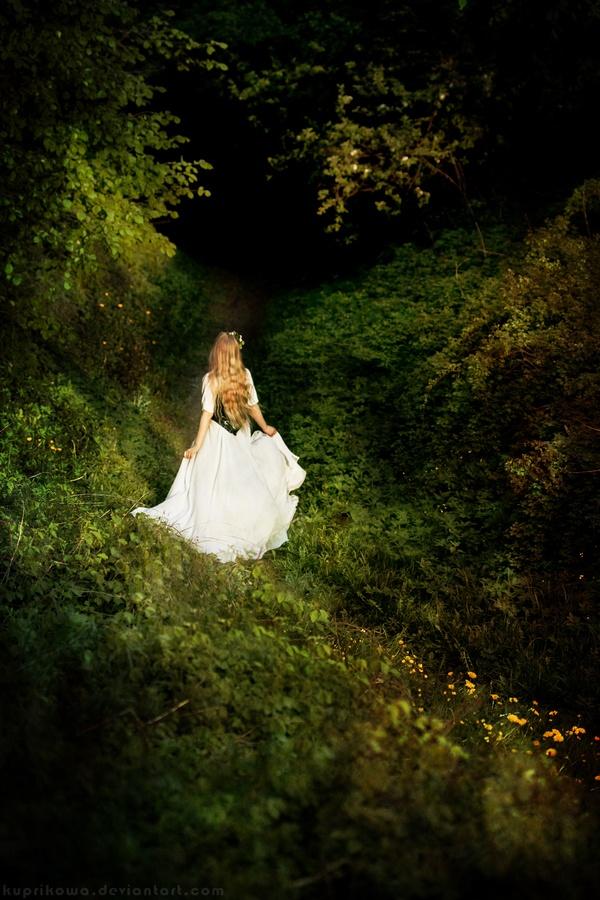 forest fairy by Anastasiya Vampir, via 500px